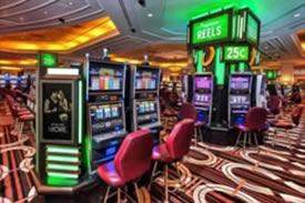 Structured wiring for casinos