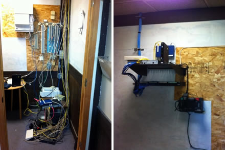 before after skykansas wiring