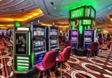 Commercial structured wiring for casinos